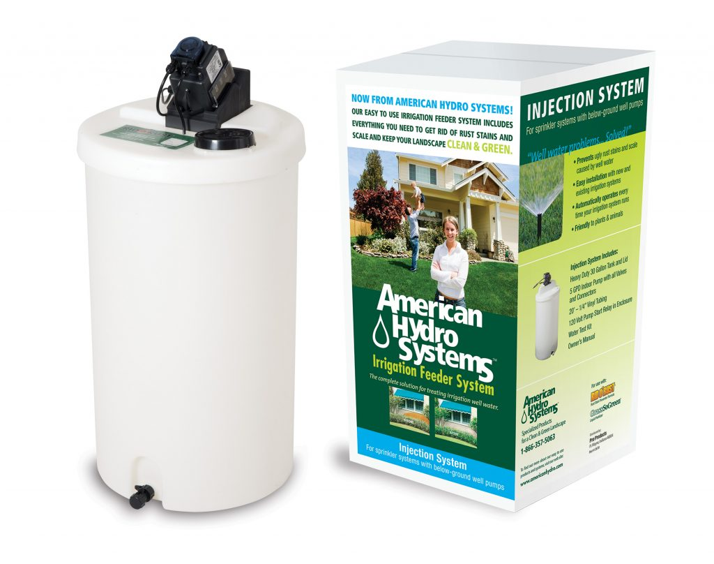 American Hydro 30 gal. Injection System