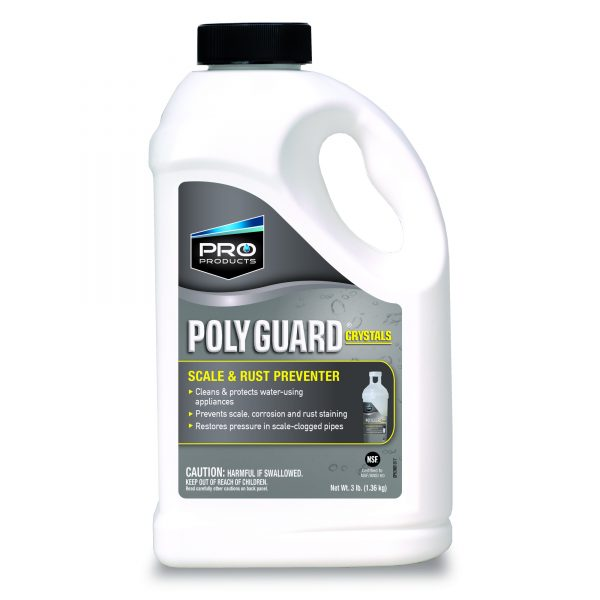 Poly Guard Crystals-Scale and Rust Preventoer-3 lb (6 units)