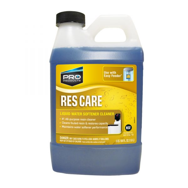 ResCare Liquid Water Softener Cleaner 64 oz (4 units)
