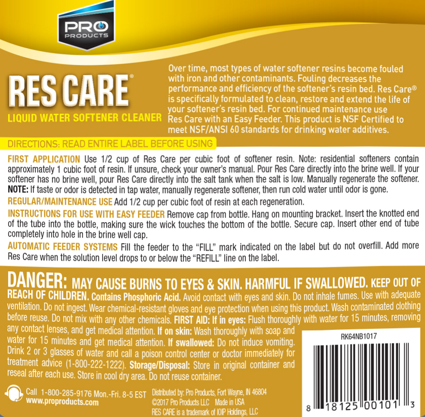 Res Care® | Pro Products